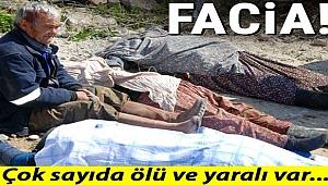 Son dakika: Mersin'de feci kaza! 5 ölü, 22 yaralı...