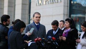 AK Parti Sözcüsü Ömer Çelik'ten