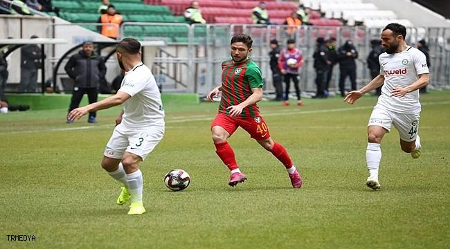 Amed Sportif Faaliyetler sahasında 1922 Konyaspor ile yenişemedi.