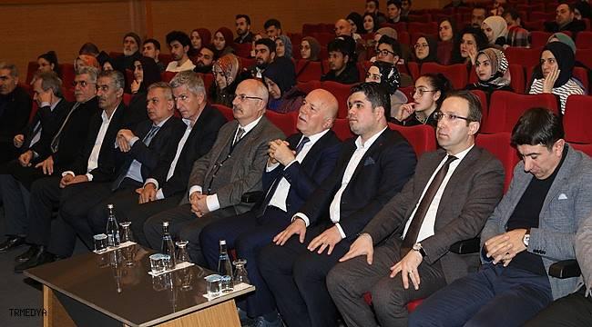 """Erzurum'da  """"Suriye-Libya"""" konferansı"""