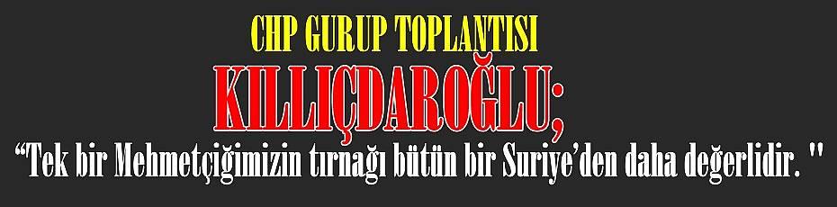 Kemal Kılıçdaroğlu CHP Grup Toplantısında Konuştu