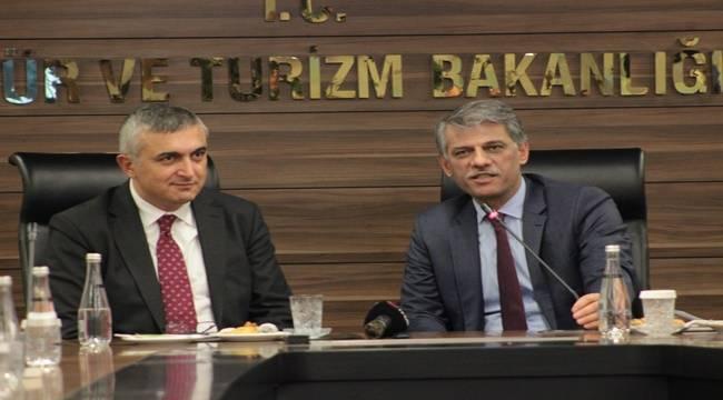 Kültür ve Turizm Bakanlığı, TÜİK tarafından 'Kalite Belgesi' almaya hak kazandı