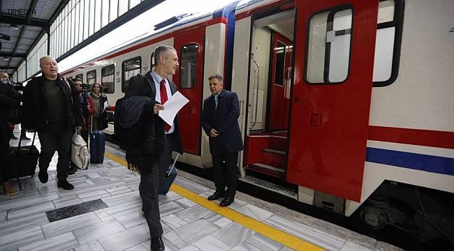 """""""Turistik Doğu Ekspresi"""" AB Büyükelçilerine ev sahipliği yapıyor"""