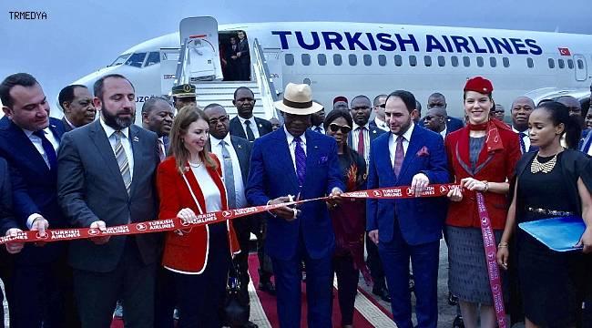 Türk Hava Yolları, Ekvator Ginesi'nin başkenti Malabo'yu uçuş ağına ekledi