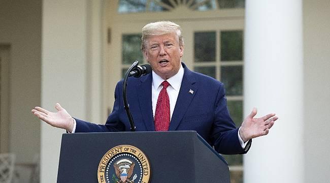 """ABD Başkanı Trump: """"5 dakikada sonuç veren korona virüs testi önümüzdeki hafta kullanılacak"""""""