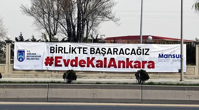 Ankara Büyükşehirden yardım kampanyası