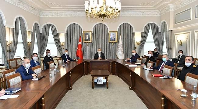 İstanbul'da pandemi kurulu toplandı