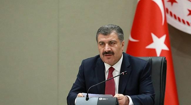 """Sağlık Bakanı Koca: """"Türkiye'nin genelinde pozitif vakaların olduğunu biliyoruz"""""""
