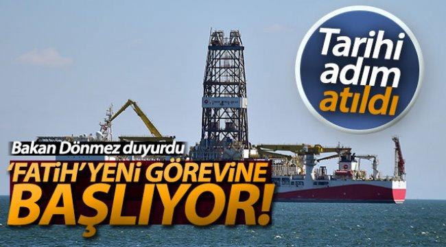 Bakan Dönmez: 'Niyetimiz Temmuz ayı içerisinde Karadeniz'de kendi milli sondaj gemimizle ilk sondajımızı yapmak'