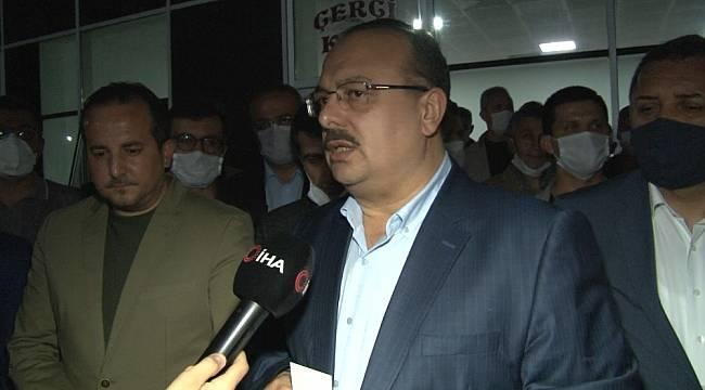 Bursa Valisi Yakup Canbolat'tan olaylarla ilgili açıklama