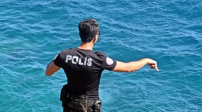 'Falezlerde intihara teşebbüs var' ihbarı, polisi alarma geçirdi
