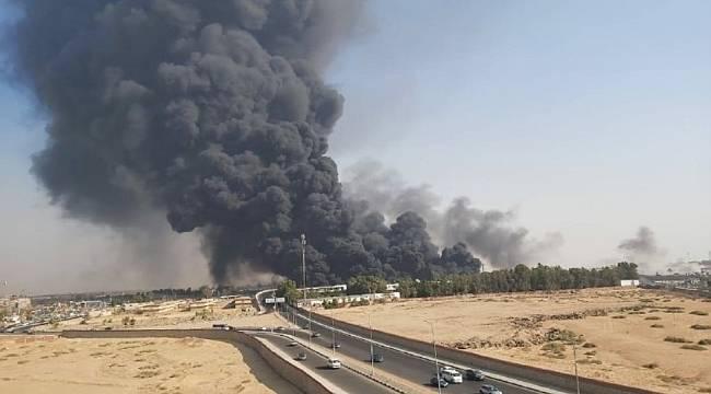 Mısır'da petrol boru hattında dev yangın