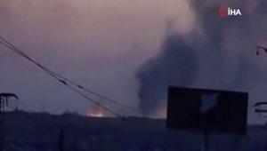 SMO terör örgütü YPGPKK mevzilerini vurdu