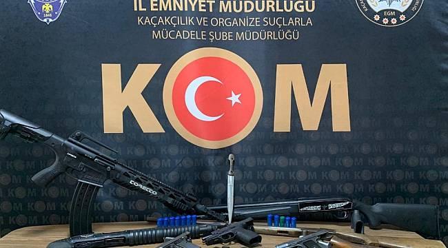 Malatya'da yasa dışı silah ticaretine darbe