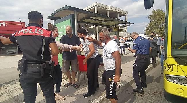 Bursa'da maske kavgasında kan aktı