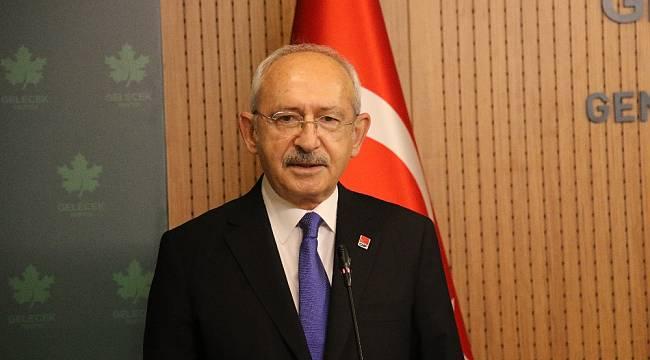 CHP Genel Başkanı Kılıçdaroğlu'ndan Davutoğlu'na hayırlı olsun ziyareti