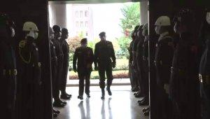 Genelkurmay Başkanı Güler, Libya Genelkurmay Başkanı El-Haddad ile buluştu