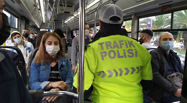 Toplu taşımalarda virüs denetimi