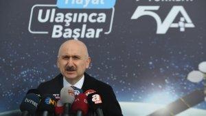 """""""Türksat 5A ve 5B uyduları için yer istasyonları kurulum çalışmalarında son aşamaya geldik"""""""