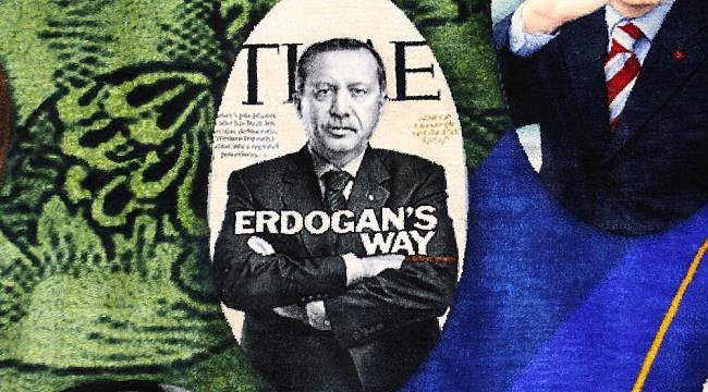 Cumhurbaşkanı Erdoğan sevgisi rekorluk halıya dokundu