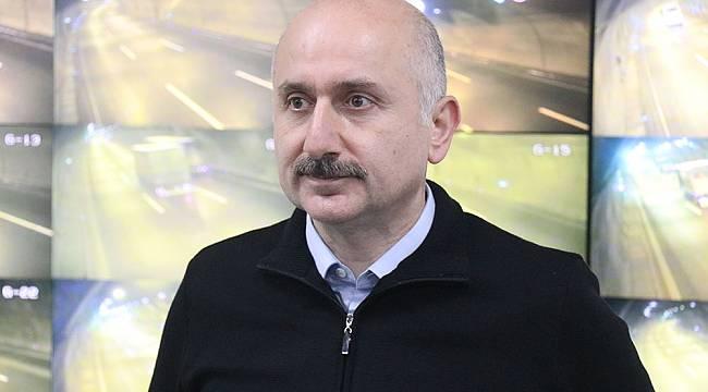 """Ulaştırma Bakanı Karaismailoğlu: """"68 bin kilometrelik yollarımız anlık olarak izleniyor"""""""