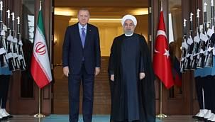 Erdoğan, Ruhani ile görüştü