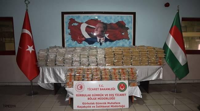 Gümrük Muhafaza Ekipleri Gürbulak'ta rekor eroin yakaladı