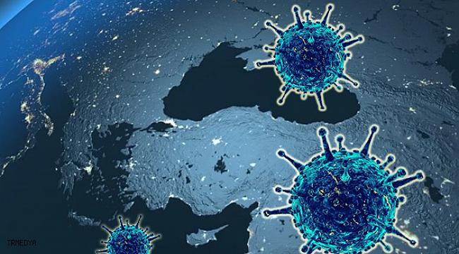 Koronavirüs salgınında vaka sayısı 8 bin 424'e ulaştı