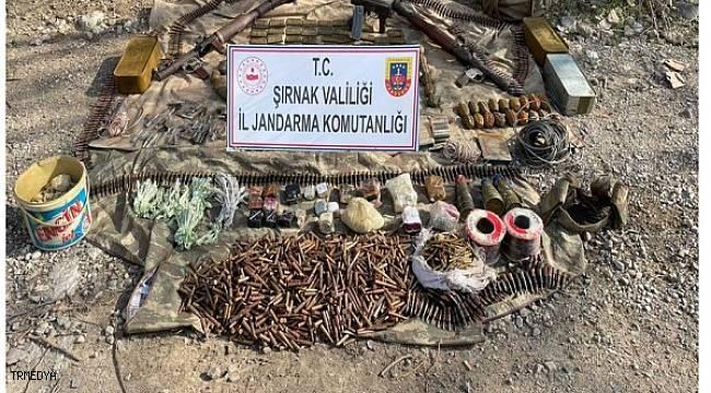 Şırnak'ta terör örgütü PKK'ya ''Eren Operasyonu'' darbesi