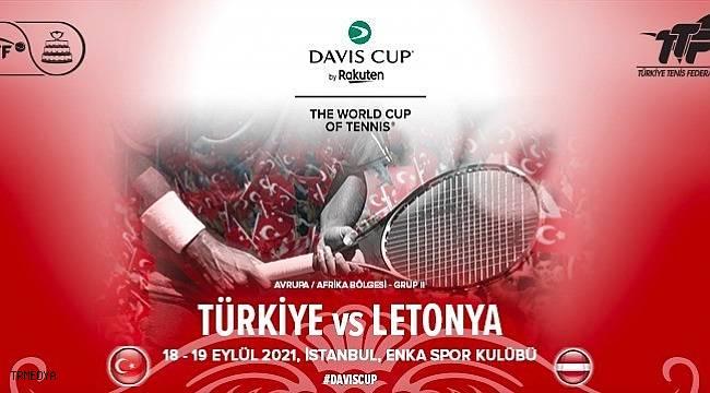 Davis Cup Türkiye - Letonya Dünya Grubu 2 maçının basın toplantısı düzenlendi