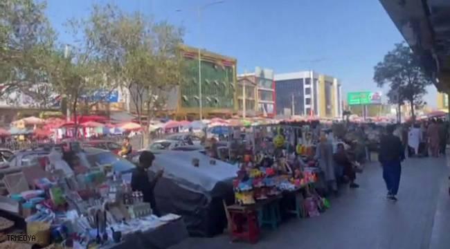 Güvenliğin sağlandığı Kabil'de çarşı-pazar hareketliliği yaşanıyor