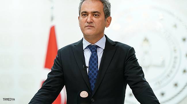 """Milli Eğitim Bakanı Özer: """"Şu an itibarıyla vaka nedeniyle tatil edilen hiçbir okul yok"""""""