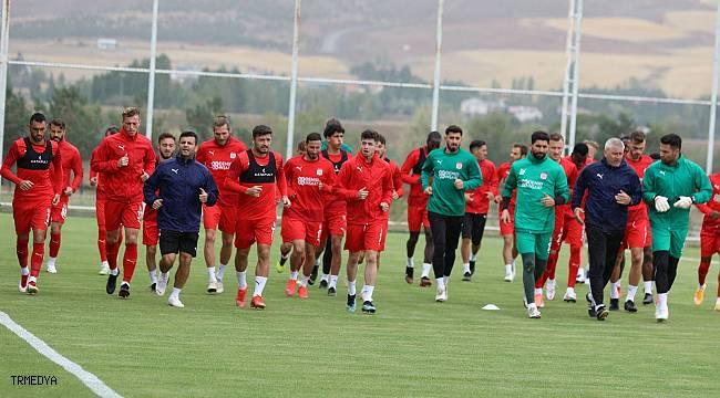 Sivasspor'da Gaziantep maçı öncesi 4 eksik bulunuyor