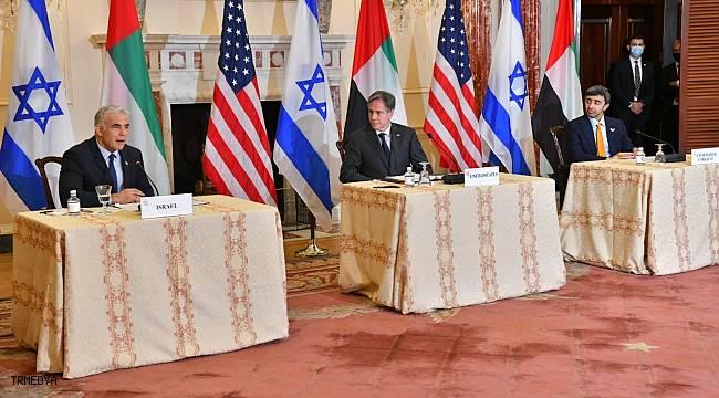 """ABD Dışişleri Bakanı Blinken'dan Filistin-İsrail meselesinde """"iki devletli çözüm"""" vurgusu"""