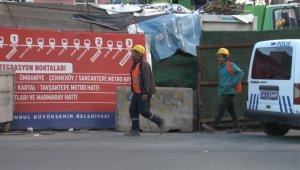 Ataşehir'de metro inşaatında kaza: 1 işçi yaralı