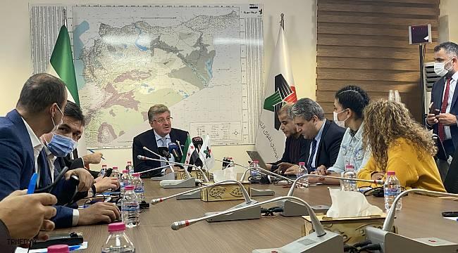 Suriye muhalefetinin Başkanı Muslat, ABD temaslarını değerlendirdi